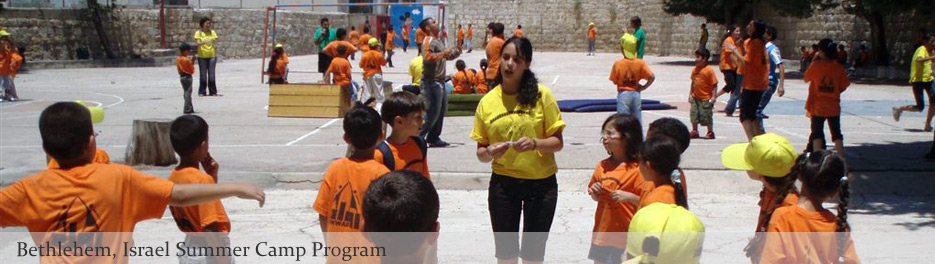 Bethlehem Israel - Summer camp program