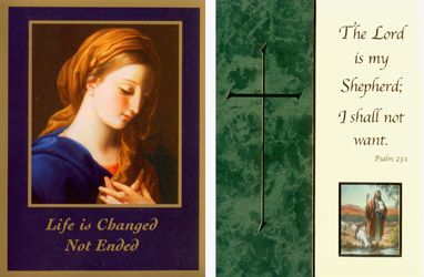 Deceased Spiritual Card Covers